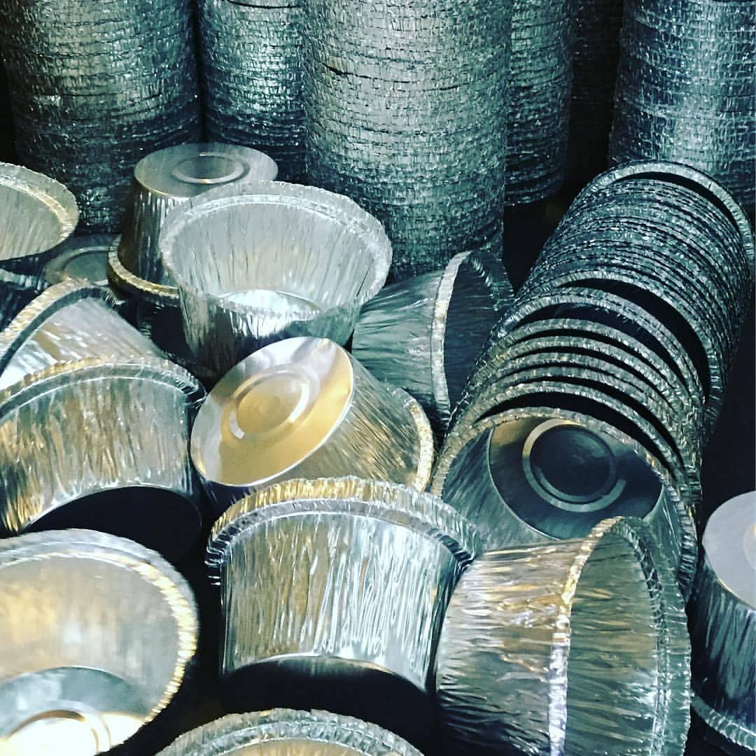 تولید ظروف یکبار مصرف آلومینیوم