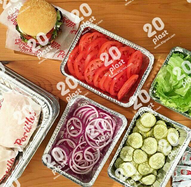 فروش ویژه ظروف یکبار مصرف آلومینیومی