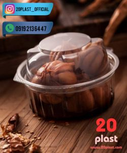 ارزان ترین ظروف در دار یکبار مصرف بسته بندی